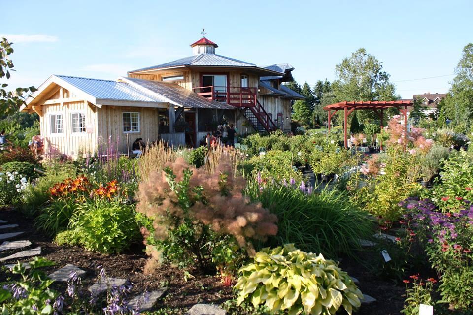 Centre jardin magnifique