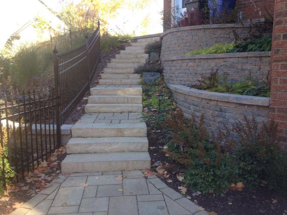 Escalier de marches Hemmingford Permacon